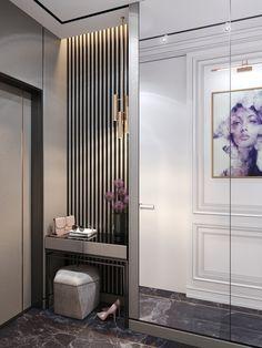 61 Dressing Table Design Ideas - New Deko Sites Design Hall, Flur Design, Home Entrance Decor, Entryway Decor, Bedroom Decor, Home Room Design, Home Interior Design, House Design, Apartment Interior