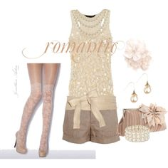 romantic and chic outfit