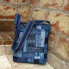 Джинсовые сумки,ещё идейки)