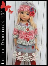 "OOAK Handmade Fashion for Little Darlings Effner 13"" by Maggie and Kate Create"