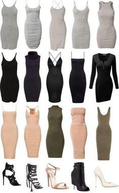 kim kardashian style grey dress bodycon dress nude dress black dress