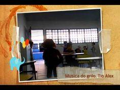 Música do GRILO - acolhida chegada de ferias e sala de aula