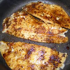 Cajun Red Snapper Recipe...doing this w/tilapia and using coconut oil instead of olive oil