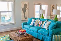Una casa inundada de azules | Decoración