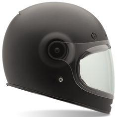 Bell Bullitt Solid Matte Black Fullface Helmet – Jane Motorcycles