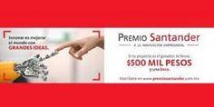 La UMSNH invita a la comunidad estudiantil a participar en la XII Convocatoria del Premio Santander a la Innovación Empresarial, emitida por el Grupo Financiero Santander – Morelia, Michoacán, 03 ...