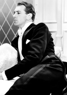 """Gary Cooper in """"Dinner at Eight"""" directed by George Cukor in 1933."""