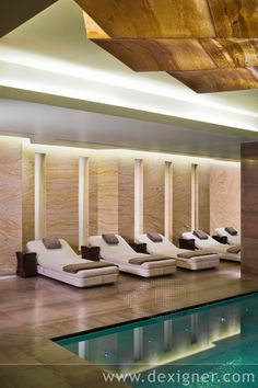 Hirsch Bedner Associates' (HBA)-ESPA spa located in the Istanbul EDITION hotel