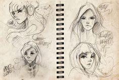 sketches#06. by Lady2.deviantart.com on @DeviantArt