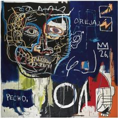 basquiat; beyond graffiti, beyond samo, beyond Andy Warhol, art beyond.