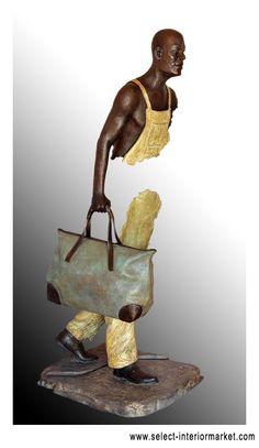 Bruno Catalano sculpture Bronze Sculpture, Sculpture Art, Asian Sculptures, Photo Manipulation, Cool Artwork, Metal Art, Modern Art, Pop Art, Art Projects