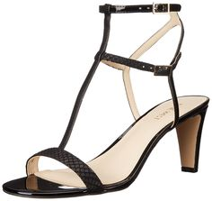 Nine West Women's Dacey Synthetic Heeled Sandal -- More info could be found at the image url.