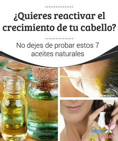 ¿Quieres reactivar el crecimiento de tu cabello? No dejes de probar estos 7 aceites naturales Podemos consumir aceite de lino para nutrir el cabello y fortalecerlo desde el interior o bien aplicarlo de forma tópica mediante masajes en el cuero cabelludo