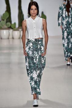 Mara Hoffman, New York Fashion Week, Frühjahr-/Sommermode 2015 New York Fashion, Ss15 Fashion, Runway Fashion, High Fashion, Fashion Show, Fashion Spring, Mara Hoffman, Chambray, Vogue