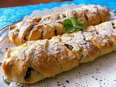 Strudel, Desert Recipes, Deserts, Treats, Vegan, Chicken, Sweet, Food, Cakes