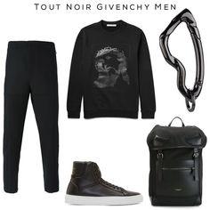 All-Black Givenchy (+ SVØRN) #givenchy #black #allblack #fashion #luxury #mensfashion #accessories #keychain