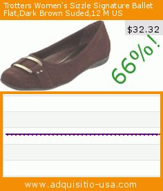 Trotters Women's Sizzle Signature Ballet Flat,Dark Brown Suded,12 M US (Apparel). Drop 66%! Current price $32.32, the previous price was $94.95. https://www.adquisitio-usa.com/trotters/womens-sizzle-signature-210