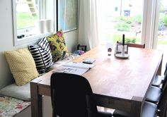 Image result for dining room bench seat floor plan