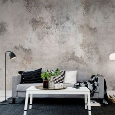 Ideas for living room wallpaper accent wall lounges grey Stunning Wallpapers, Deco Design, Blog Design, Design Ideas, Map Design, Wall Cladding, Decor Room, Interior Inspiration, Room Inspiration