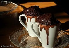 Check in the microwave mug Ferrero Rocher, Nutella, Microwave, Almond, Good Food, Cooking Recipes, Chocolate, Mugs, Tableware