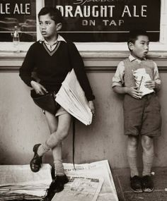 Newspaper boy, Royal Oak tavern, Wellington, New Zealand, 1960 Photo Documentary, Documentary Photography, Street Photography, Portrait Photography, Reportage Photography, Straight Photography, New Zealand Landscape, New Zealand Art, Photography Courses