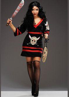 Jason Voorhees Halloween Costume Dead Lake Halloween