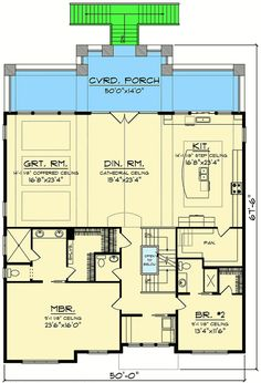 Craftsman House Plan for a View Lot - 890067AH   Architectural Designs - House Plans