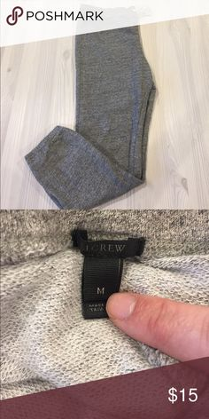 J. Crew Sweatpants J. Crew Sweat pants. Worn twice, excellent condition. They do not have pockets. 25'' inseam, 36'' long. J. Crew Pants Track Pants & Joggers