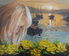 Oil Paint Romantic Series (Yağlıboya Romantic Seri) Romantic Series, Jpg, Modern Art, Painting, Heaven, Idea Paint, Art Production, Sky, Painting Art
