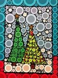 My 1st Graders used Percolator to create percolated versions of their winter tree collages