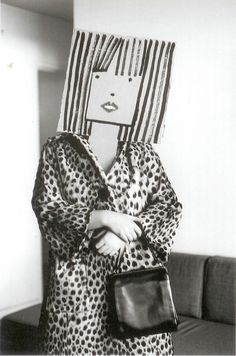 "Inge Morath, Untitled (Model with Mask by Saul Steinberg), from the ""Mask"" Series      1961"