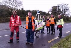 Bed pushers hit the road – defiant as large crowd of supporters gather in West Cork, Large Crowd, Bed, Image, Stream Bed, Beds