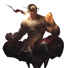 Fist Lee Sin by UberWild;God Fist Lee Sin by UberWild; Fantasy Character Design, Character Design Inspiration, Character Concept, Character Art, Concept Art, Fantasy Art Men, Fantasy Warrior, Fantasy Artwork, Dungeons And Dragons Characters