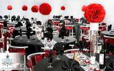 Black white and red wedding ideas red wedding decoration ideas black white and red wedding decor Red And White Wedding Decorations, Burgundy Wedding Theme, Red And White Weddings, Red Wedding Flowers, Gold Wedding Theme, Wedding Reception Centerpieces, Luxe Wedding, Reception Decorations, Wedding Colors