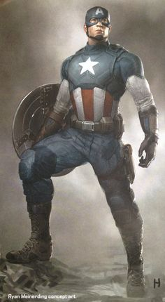 "From ""The Art of Captain America: The Winter Soldier"""