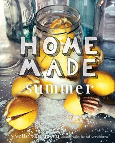 home made summer cookbook cover