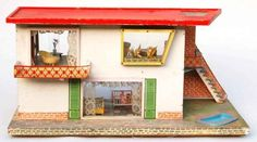 Puppenhäuser 50er 23