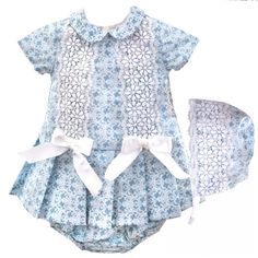 ????baby Girl's Spanish Jam Pant Set ???? 0-18months