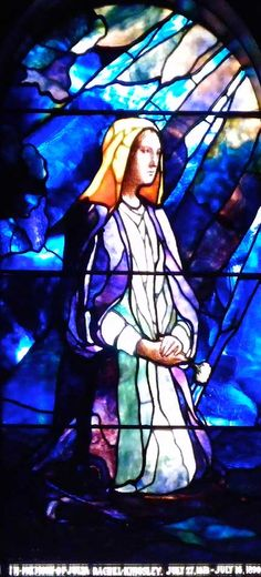 In My House Are Many Mansions Stained Glass Windows  First Presbyterian Church  One Symphony Circle, Buffalo, NY  Mary Tillinghast window, 1894