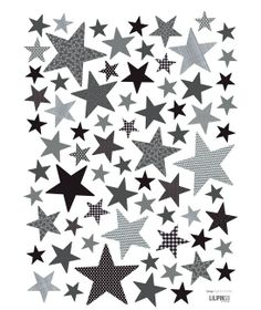 Stickers stars by Lilipinso, baby room, étoiles
