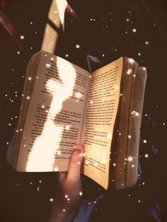 The magic in books ...