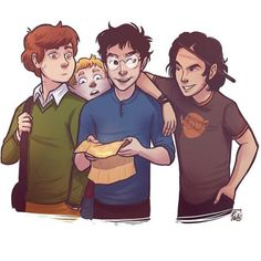 James, Lupin, Sirius and Peter