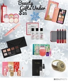 Beauty gifts under $25! Prime Beauty Blog