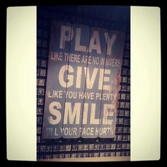 Play like.. Quote