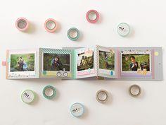 Bluebells Design: Mini photo album