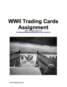 Essay on World War Two? I need a little bit of help?