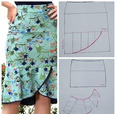 Skirt Patterns Sewing, Clothing Patterns, Clothing Ideas, Sewing Clothes, Diy Clothes, Latest African Fashion Dresses, Fashion Sewing, Colorful Fashion, Pattern Fashion