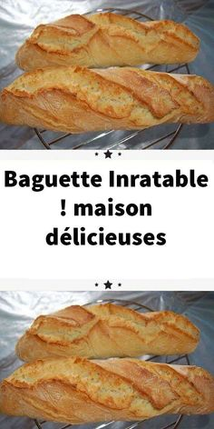 delicious house - This bread baguette recipe that I find fantastic, The bread baguettes are crispy at will, like at t - Cooking Chef, Cooking Recipes, 30 Minute Meals, Creative Food, Italian Recipes, Food Videos, Chicken Recipes, Brunch, Food And Drink