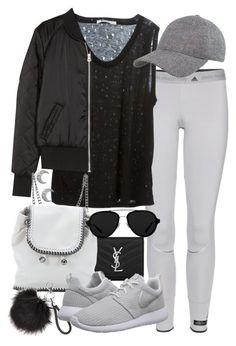 """Untitled #19497"" by florencia95 ❤ liked on Polyvore featuring adidas, Yves Saint Laurent, T By Alexander Wang, H&M, STELLA McCARTNEY, 3.1 Phillip Lim, NIKE, women's clothing, women's fashion and women"