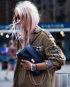 Cool Chic Style Fashion: Street Style: New York Fashion Week Spring 2017 Pinterest: KarinaCamerino